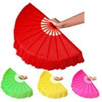 DHL DHL Livraison gratuite Multicolor art populaire chinois danse de la soie fan fan de KungFu