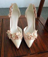 Kaufen Sie Im Grosshandel Champagner Damen Hochzeit Schuhe Online Aus