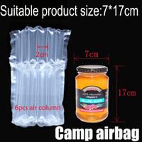 Надувная Воздушная пневмооболочка (Dia.7 * H17cm) на воздушную подушку Колонок (3 см) Buffer мешок защиты продукта хрупких товаров