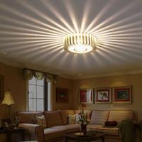 Главная LED 3W Hall Light Walkway крыльцо декор лампы солнце цветок творческие светодиодные потолочные огни