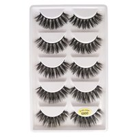 5pairs set 3D Mink False EyeLashes G800 Handmade Natural Pla...