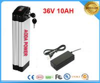 envío gratis TNT 1pcs / lot Alta calidad 36v bicicleta eléctrica batería / 36v 10ah batería de litio / paquete de batería ebike 36v 10ah