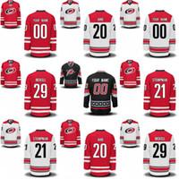 Mens Womens Youth Carolina Hurricanes 21 Lee Stempniak 14 Justin Williams 6 Klas Dahlbeck 5 Noah Hanifin Custom Hockey Jerseys Barato