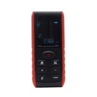 Freeshipping Digital 100m tragbare Laser-Entfernungsmesser Handheldlaser Entfernungsmesser Entfernungsmesser Fläche Volumen Messung mit Winkelanzeige
