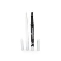 Eyeliner Geri Çekilebilir Kalem 12 adet / grup 2 renk SiyahBeyaz Sıvı Eyeliner Su Geçirmez Göz Kalemi Sıvı Eyeliner Kalem Ve Kalemler E695