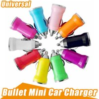 Bunte Kugel Mini USB Car Charger Universal Adapter für Iphone 5 6 7 8 X Handy PDA MP3 MP4 Player Mobile i9500 Samsung HTC