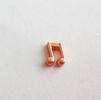 Nota musicale Charms galleggianti si adatta ai tuoi medaglioni