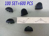 100 conjuntos 600 pcs l1 r1 + l2 r2 botões gatilho controlador gamepad botões de peças de reparo para play station 4 ps4 controlador w / spring