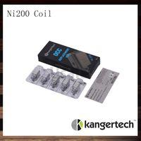 Kangertech Subtank NI200 أورينت فائف رئيس 0.15 أوم التحكم في درجة الحرارة لفائف subox subtank البسيطة زائد 100٪ الأصلي