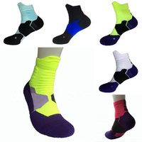Männer Frauen Professionelle Elite Basketball Socken Wicking Atmungsaktives Deodorant Anti-Friktions Sport Socken Terry Botton für das Training