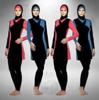 5e8741ffcb6 Wholesale muslim swimwear burkini for sale - New Muslim Swimwear Islamic  Swimsuit Modest Burkini Full Body