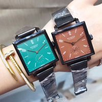 2017 Fashion Casual Rectangle Dial Mesh band Watch NOMOS bra...