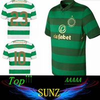 b2778b2f5 2017 2018 Celtic FC Home Soccer Jersey 17 18 Griffiths dembele Sinclair  Rogic McGregor Roberts Forrest TANGO FUTURE SHORTS ...