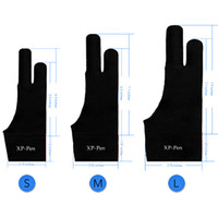 XP-Pen профессиональный художник противообрастающие лайкра перчатки для любого графического планшета (S/M / L 3 размеров, подходит для правой и левой руки)