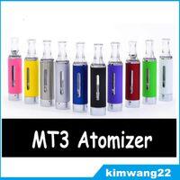 Evod MT3 распылитель clearomizer для эго электронная сигарета evod распылитель для электронной сигареты комплекты различные цвета DHL быстро бесплатно