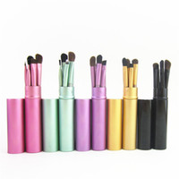 5pcs set Professional Pony Hair Eyeshadow Brushes Set Makeup...