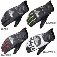 2015 KOMINE short Style leather motorcycle gloves Moto racing gloves titanium alloy knight riding gloves breathable drop GK170 have 4 colors