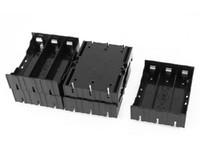 18650ボックス5 PCS /ロットブラックプラスチック3 x 3.7V 18650電池6ピンバッテリーホルダーケースディスカウント50%