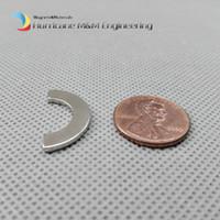 1 пачка Магнит этапа дуги OD22.5xID13.5х1.5 мм толстые полукольца неодимовый сильный неодимовый редкоземельный постоянный магнит двигатель