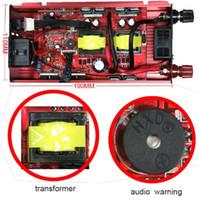 Inverter per auto 12v 220v per alimentare invertitori Auto Convertitore di tensione CA AC Caricatore per auto 2000W 1000W Display a LED per auto Adattatore solare USB