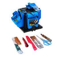 110V-240V Hushållsmultifunktionsspärrmaskin, Borr Sharpener, Mult-Sharpener för Köksknivar Saxar, Planer Järn och övningar