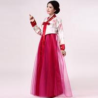 Dae Jang Geum traje adulto coreano trajes étnicos Hanbok coreano dança tradicional modelos femininos