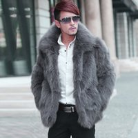 Wholesale- 2017 New Arrival Mens Fur Coats Turn Down Collar ...