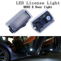 2pcs LED étape porte courtoisie lumière d'accueil lampe pour benz A B C E M ML GL classe W212 W166 W176 W204 W167