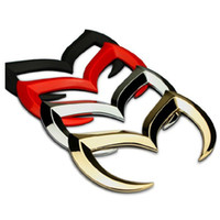 Frete grátis 1 pc Metal evil M 3D emblemas emblema do carro adesivos para o Japão carro Ma *** EUA Fo *** série cauda tronco traseiro decoração