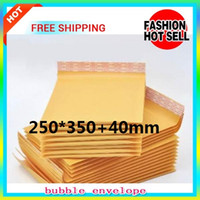 30pcs, Bubble Mailers Padded Envelopes Bags KRAFT BUBBLE MAIL...
