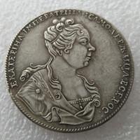 Yüksek Kaliteli toptan 1727 1 Rublesi rus paraları kopya imalat kopya para Fabrika Fiyat güzel ev Aksesuarları Gümüş Paraları