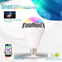 Smart Bulb Wireless Bluetooth Audio Speakers 3W E27 LED RGB ...