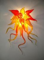 100% рот душевая боросиликатная лампа легкий дом декор современный стиль мурано стекло декоративные настенные лампы