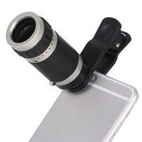 Ого зум ночного видения Монокуляр телескоп объектив камеры Оптический клип Telephoto для IOS Android мобильного телефона Универсального