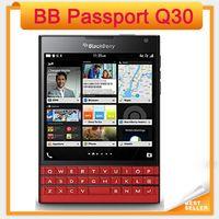 جواز سفر بلاك بيري Q30 4G TLE الهاتف الخليوي الهاتف بلاك بيري OS 10.3 رباعية النواة 3GB RAM 32GB ROM 13MP كاميرا الأصل