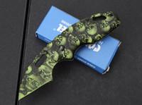 Vendita calda in acciaio Freddo X37 camouflage Pieghevole lama Coltelli Regalo Coltello Tasca Coltello Da Caccia Coltello D2 spedizione gratuita 1 pz