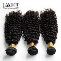 Hint Kıvırcık Saç Işlenmemiş Hint Kinky Kıvırcık İnsan Saç Dokuma Paketler 3 Adet Lot 8A Sınıf Hint Jerry Bukleler Saç Uzantıları Doğal Siyah