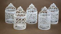 Новое Прибытие Bird Cage Украшение Подсвечники Bird Cage Свадебный Подсвечник