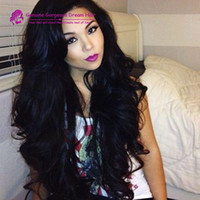 Cheap 300 density 100% brazilian glueless wig lace front wig...