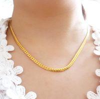 24k plateó el collar largo de la serpiente del 50cm para 2014 joyería de las mujeres, cadena caliente de 2016 collares de la venta