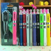 Cigarro eletrônico EVOD Starter kit E cigarro e cig com EVOD Bateria MT3 / EVOD Atomizador vaporizador caneta ego cigarro blister pack kit