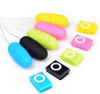 MP3 Remote Wireless Vibration Egg, 20 Modes Fernbedienung Bullet Vibrator, Sex Vibrator, Erwachsene Sexspielzeug (1Set = 2 stücke) heiß