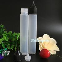 2016 Billigste Lange Tropfflasche Kunststoff Leere Stift Stil Flasche 30 ml E Flüssige Flaschen mit neuen schraubverschluss nadelspitze kostenloser versand