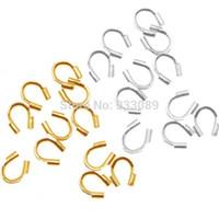 Atacado-metal Wire Guard Guardian Protectors loops resultados da jóia 58-423 500pcs frete grátis