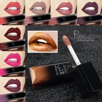 Pudaier New Makeup Waterproof Lip Gloss Matte Liquid Lipstick Women Cosmetics Makeup Nude Purple Black Rose