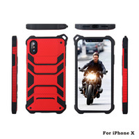 Hybrid Armor Cases For iPhone X 8 8Plus iPhone 7 7Plus 6s 6 ...
