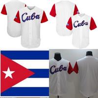 2017 Cuba World Baseball Classic WBC Jersey Authentic Personalizzato Qualsiasi Nome Numero Donne Mens Mens Giovani Baseball Maglie Bianco