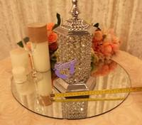 peças centrais de cristal por atacado de alta qualidade do candlelabra 111for wedding / party supply