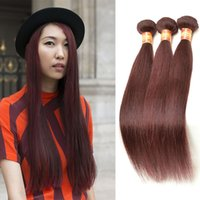 Wholesale sleek hair extensions buy cheap sleek hair extensions fine sleek burgundy silky straight brazilian human hair weave10 28 3pcs lot red wine brazilian virgin straight bundle hair weft extension pmusecretfo Gallery