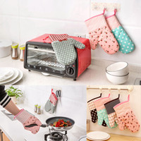 Cooking Glove Microwave Oven Mitt Insulated Non- slip Glove H...